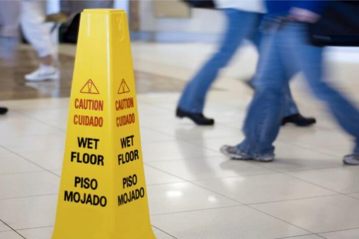 Slips and Falls … and a Forbidden Clause