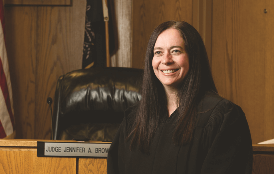 Judge Jennifer Brown An Honorable Charge