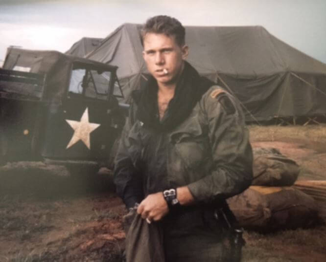 Donald MacPherson Military