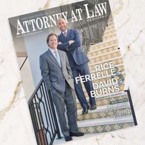Attorney at Law Magazine First Coast Ferrelle Burns