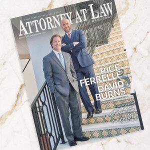 Attorney at Law Magazine First Coast Ferrelle Burns