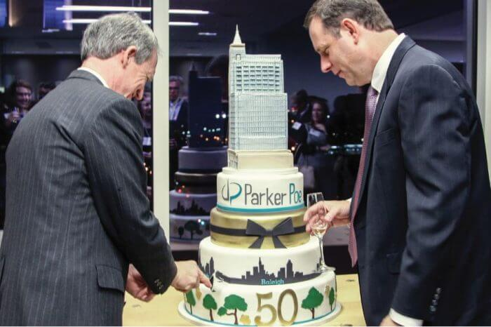 Parker Poe:   Celebrating 50 Years of Legal Innovation