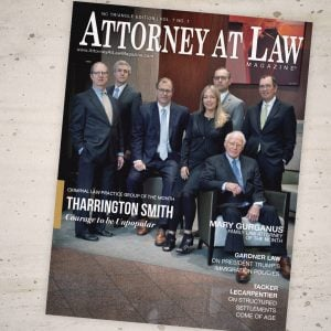 Attorney at Law Magazine NC Triangle Vol. 7 No. 1