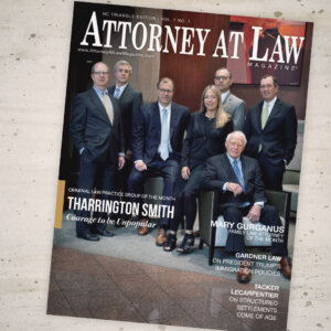Attorney at Law Magazine NC Triangle Vol. 7 No. 1