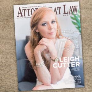 Attorney at Law Magazine San Antonio Vol. 1 No. 2