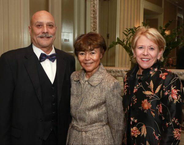 Judge Bruce E. Brodie; Justice Audrey B. Collins and Justice Lee Smalley Edmon | PHOTO CREDIT: Lee Salem