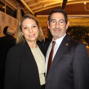 Nina Marino and Rick Kaplan