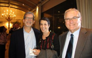 Dale Cohen, Amy Cohen and Lee Levine
