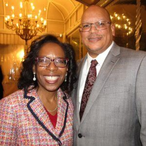 LaVonne Lawson and Charlie Hill