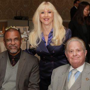 Judge Kelvin D. Filler, BHB Foundation President Linda Spiegel, and BHBA Past President Lawrence Jacobson | PHOTO CREDIT: Lee Salem