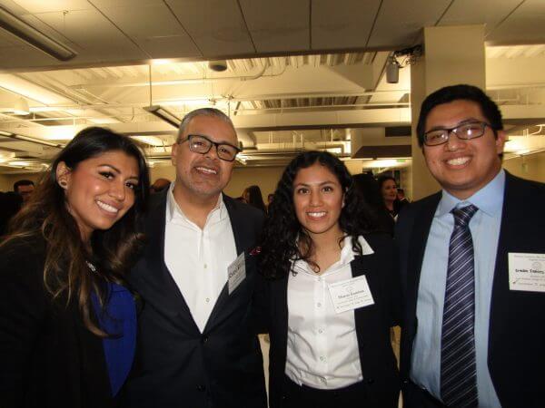 Diana Falcon, Ryan Ruiz, Sharon Ramirez and Brandon Ramirez