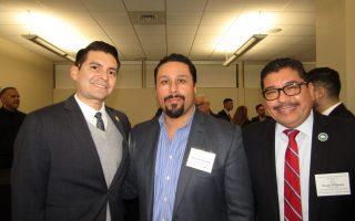 Paul Aguilar, Nicholas Chavarela and Frank Williams