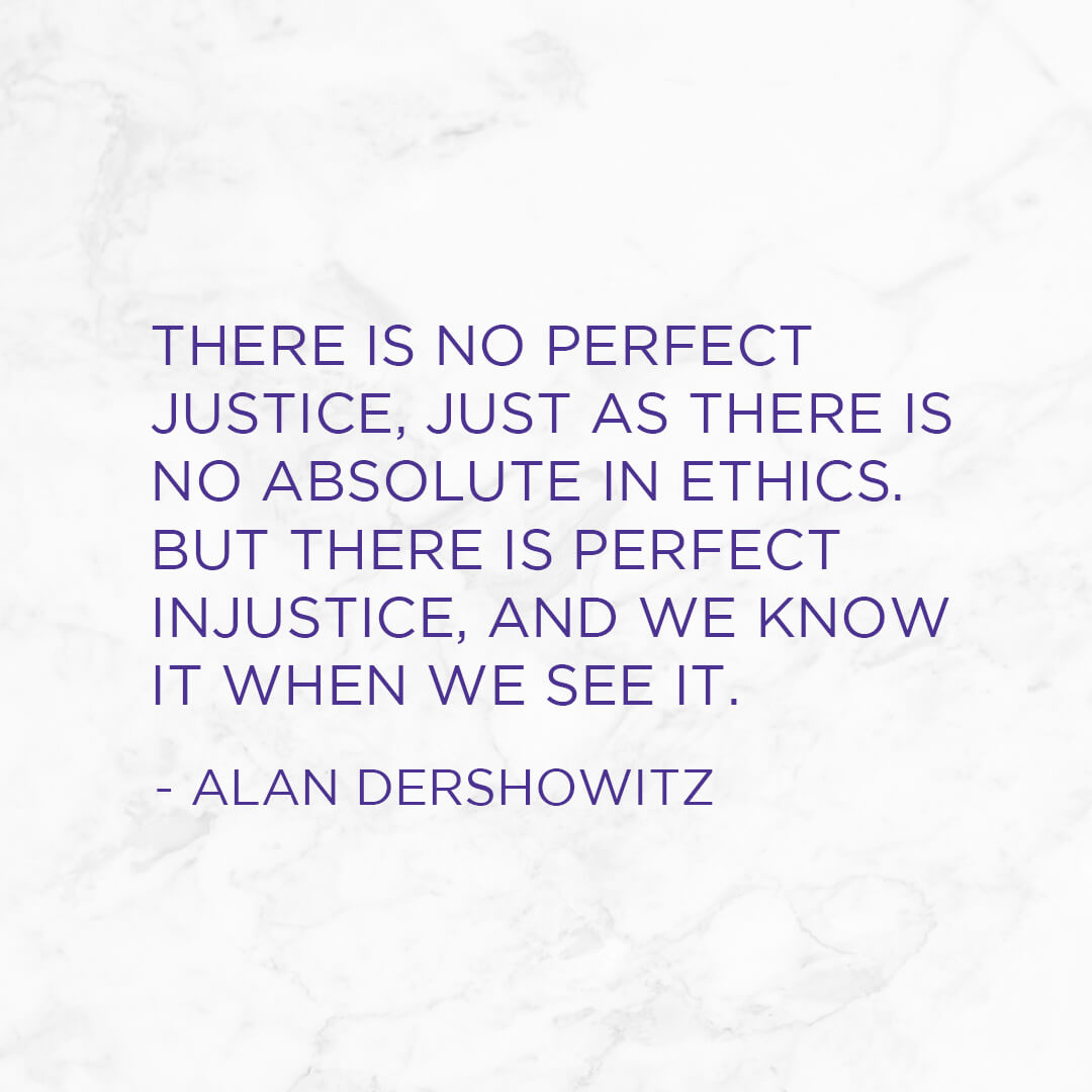 ALAN DERSHOWITZ Quote