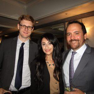 Dillon Malar, Valerie Saryan and Rob Tauler