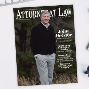 Attorney at Law Magazine NC Triangle Vol. 7 No. 2