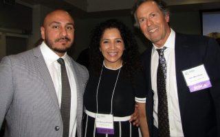 Mario Meza, Lucy Armendariz and Marc Gross