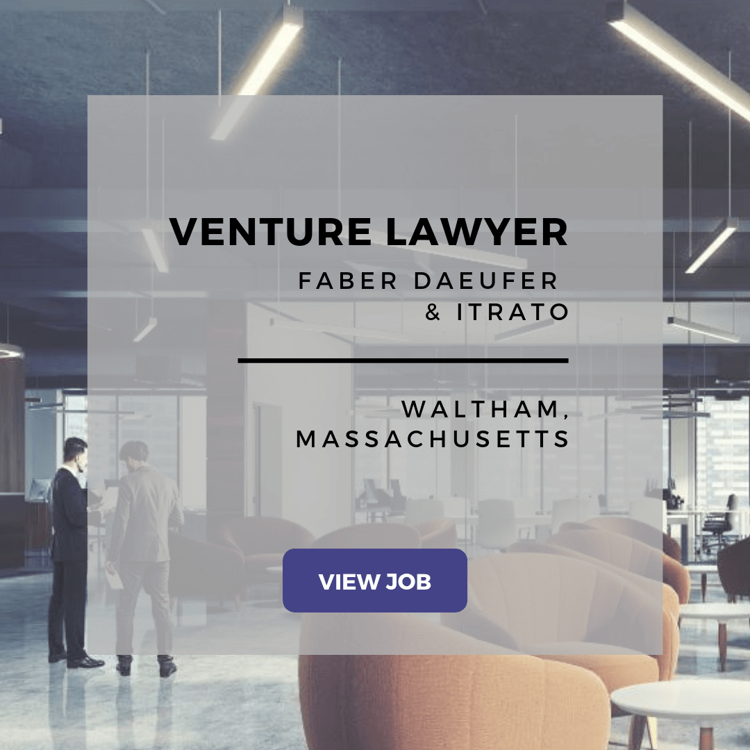 venture lawyer at faber daeufer & itrato