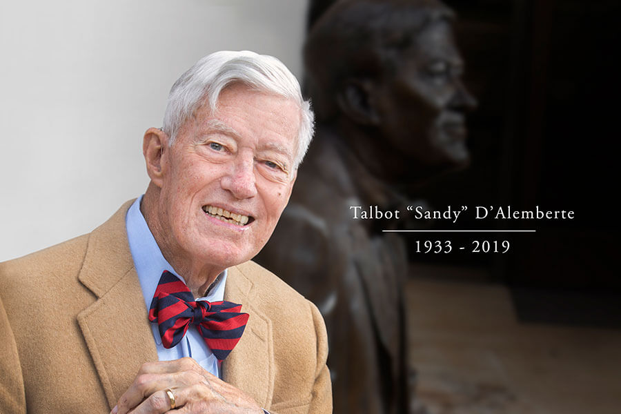 The Passing of a Legal Luminary: A Student's Tribute to Sandy D'Alemberte
