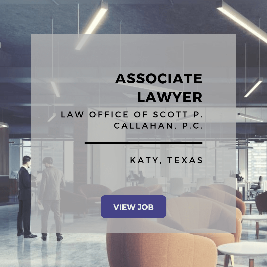 Associate Lawyer Job