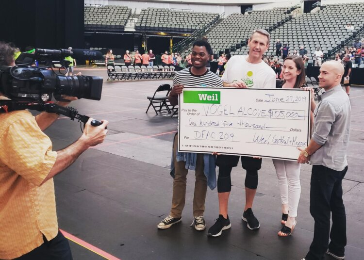Weil's Seventh Annual Dodge for a Cause Dodgeball Tournament Raises $105K for Vogel Alcove