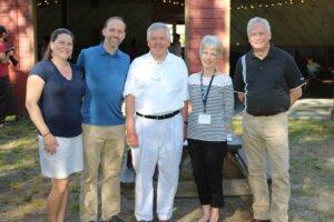 Kristin Hampson, Judge Toby Hampson, John Williamson, Ann Willardson and Dusty Bredeson