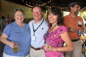 Lynette Pitt, Clay Allen Collier and Angela MacKinnon