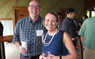 Warren Savage and Judge Donna Stroud