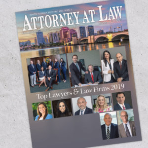 Attorney at Law Magazine Palm Beach Vol. 8 No. 1