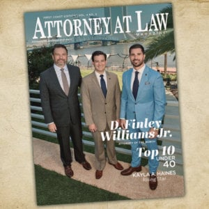 Attorney at Law Magazine First Coast Vol. 4 No. 5