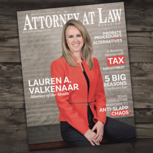 Attorney at Law Magazine San Antonio Vol. 1 No. 5