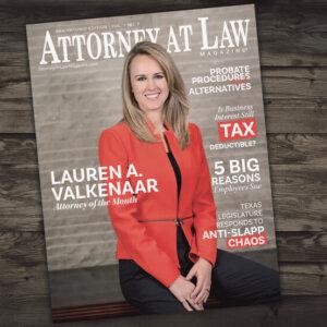 Attorney at Law Magazine San Antonio Vol. 1 No. 5