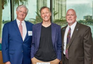 Hon. Hugh A. Carithers, Matthew Desmond and Jim Kowalski