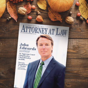 Attorney at Law Magazine NC Triangle Vol. 7 No. 5