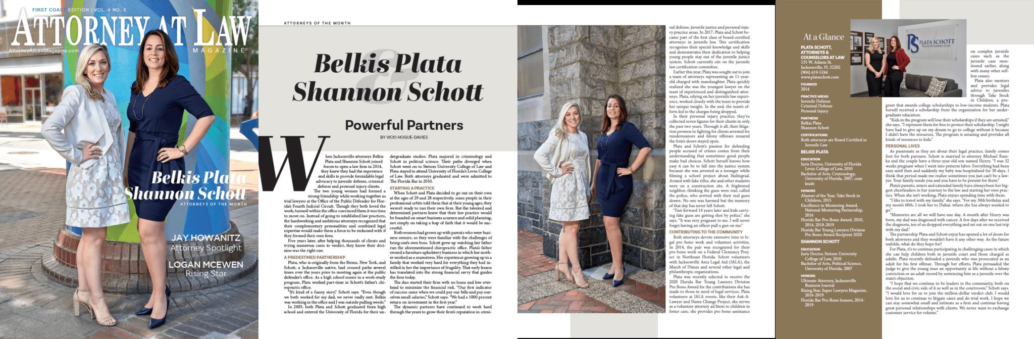 Belkis Plata & Shannon Schott
