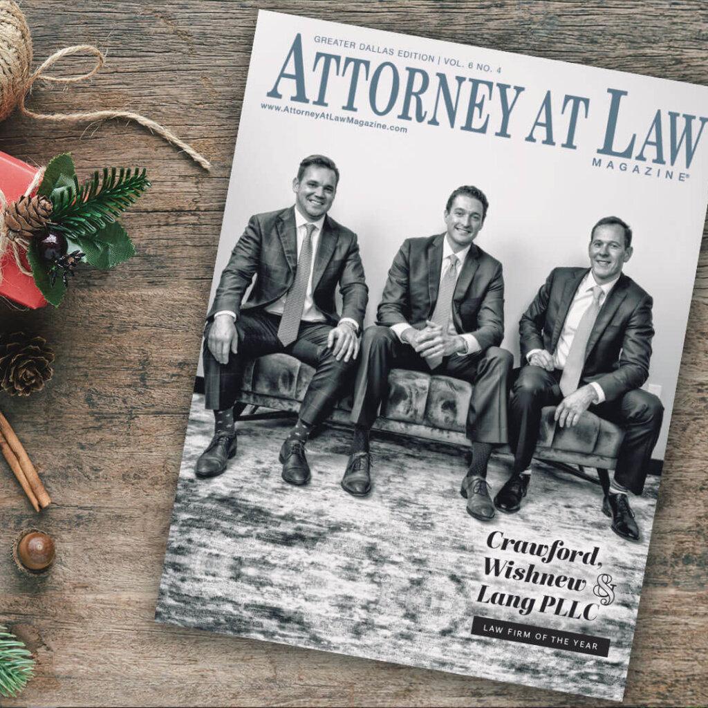 Attorney at Law Magazine Dallas Vol. 6 No. 4