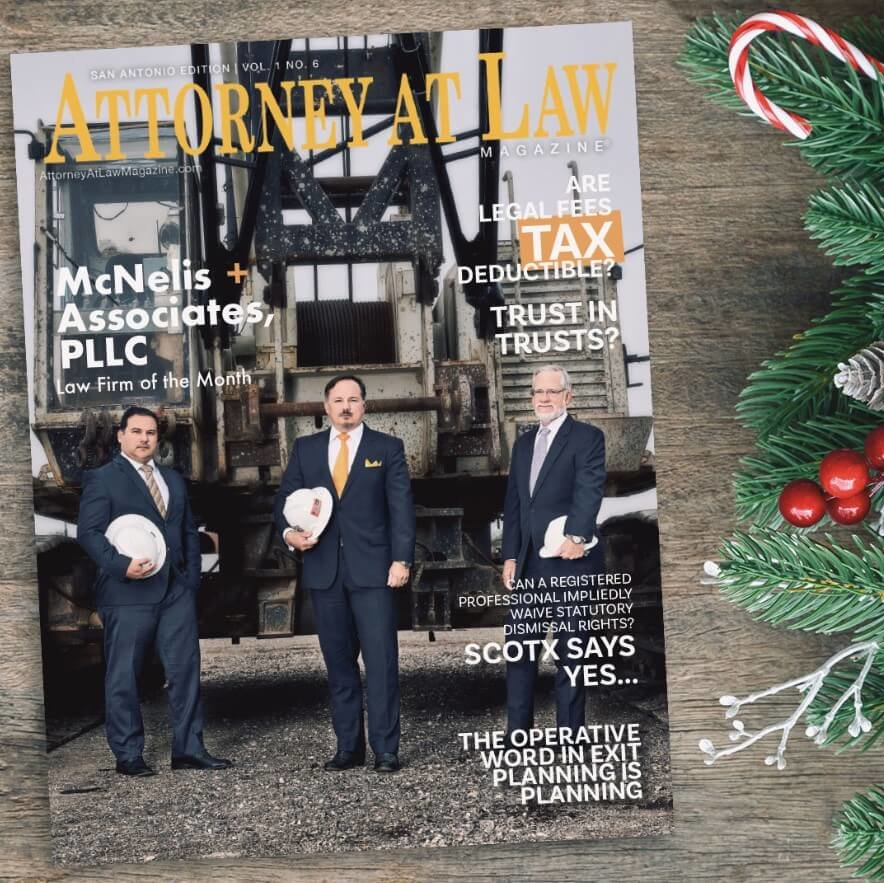Attorney at Law Magazine San Antonio Vol. 1 No. 6