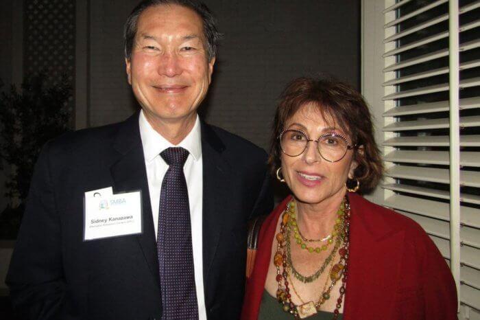 Sidney Kanazawa and Amy Newman