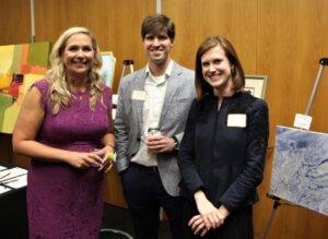 Kimberly Miller, John Ward and Jessica Vickers