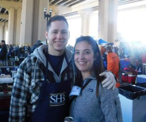 Matthew Herrin and YLS Chair Kayla Haines