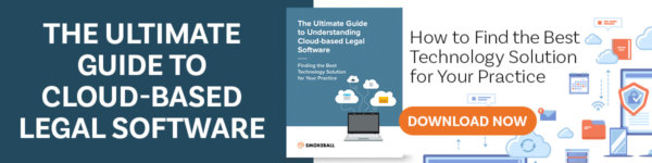 The Ultimate Guide to Cloud-Based Legal Software Banner