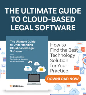 Cloud-Based Legal Software Banner