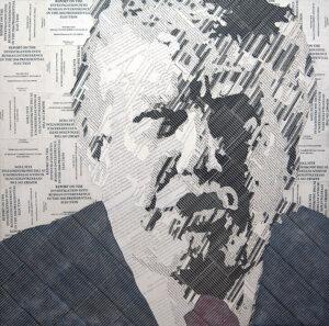"Stein's portrait of President Trump, ""Individual One"""
