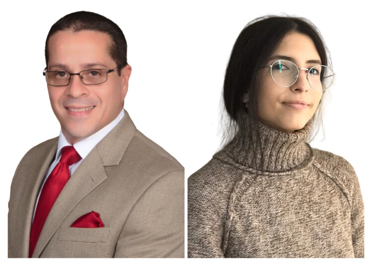 Luis Ramos and Litigation Paralegal, Maria P. Rodriguez