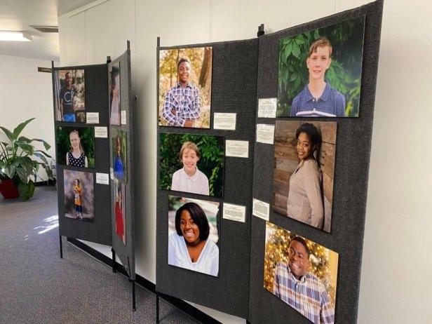 Heart Gallery Alabama exhibit