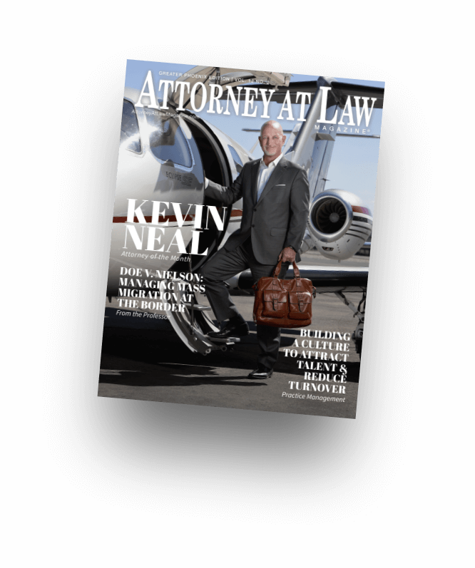 Attorney at Law Magazine in print