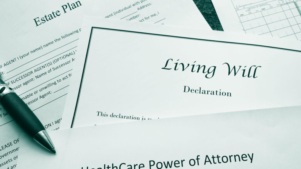 Estate Plan, Living Will, Power of Attorney Documents