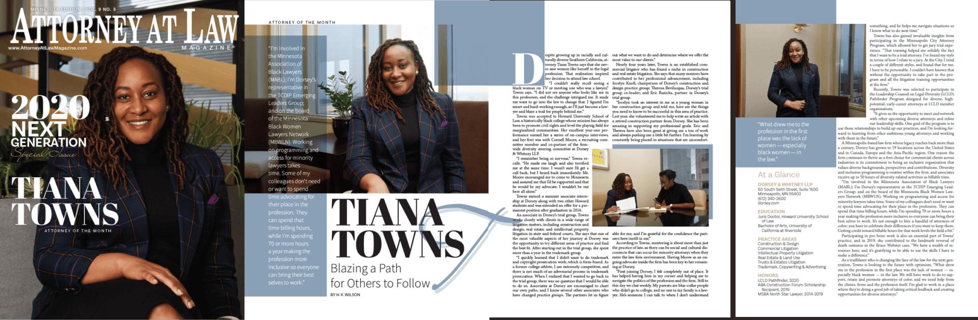 Tiana Towns