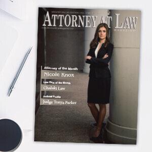 Attorney at Law Magazine Dallas Vol. 3 No. 1