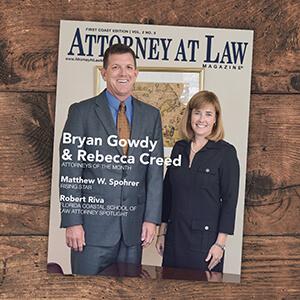Attorney at Law Magazine First Coast Vol. 2 No. 5