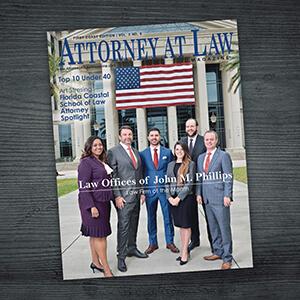 Attorney at Law Magazine First Coast Vol. 2 No. 6